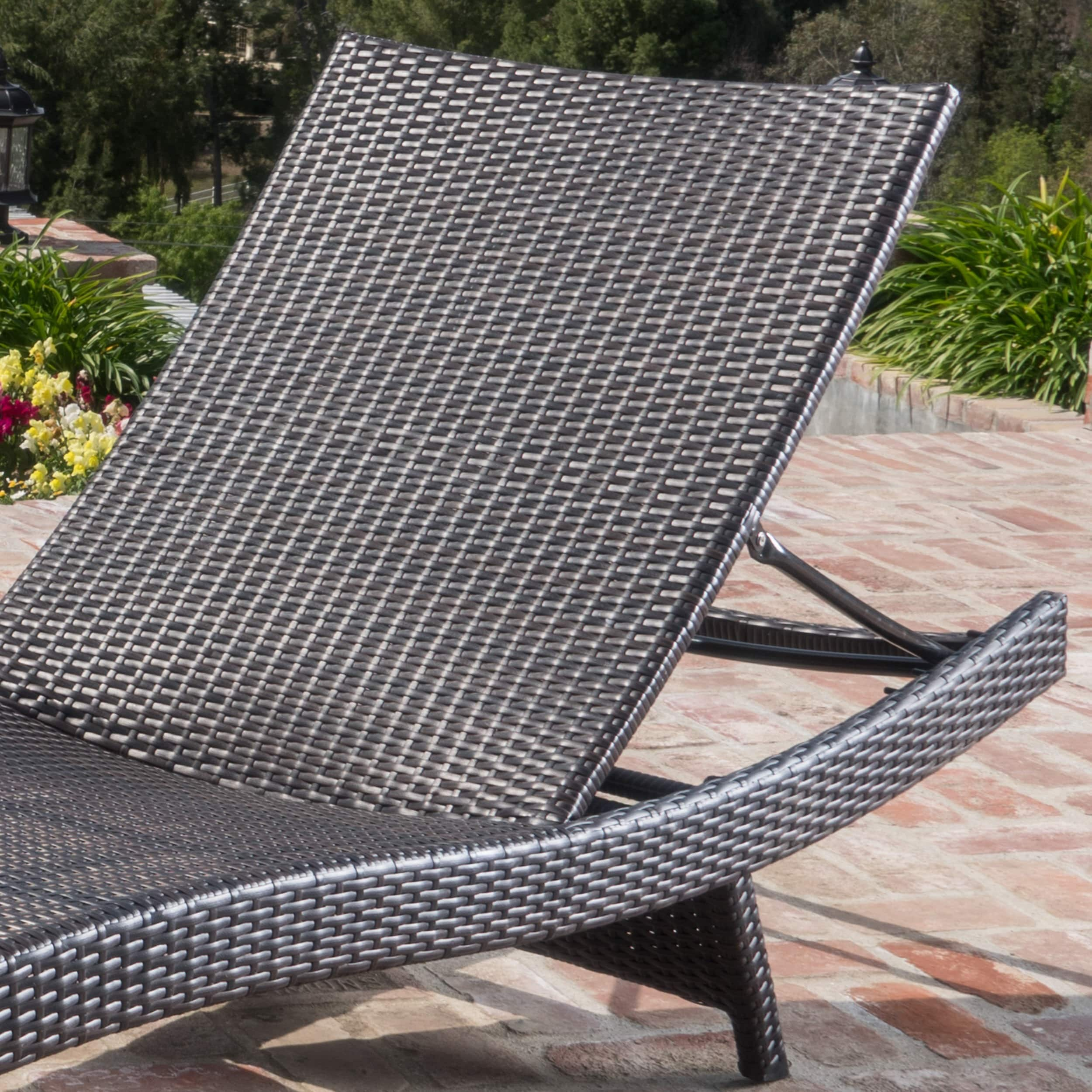 Outside Lounge Chairs Details About Havenside Home Vilano Outdoor Lounge Chairs Set Of 4