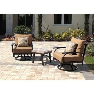 sale sirio ashton 3 piece outdoor furniture swivel chairs set defburiike