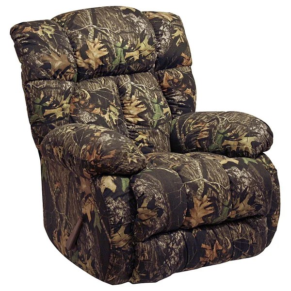 Catnapper Laredo Camo Chaise Rocker Recliner  16100154  Overstockcom Shopping  Big Discounts