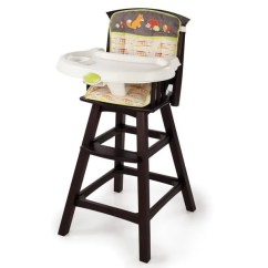 High Chairs Canada Reviews Elegant Chair Covers For Wedding Shop Summer Infant Classic Comfort Wood In Fox And Friends