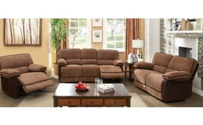 Furniture Of America Hazel Mocha Dark Brown 2 Piece