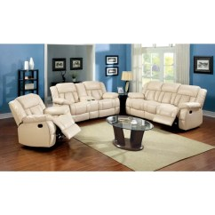 Coaster Leather Sofa Reviews Mid Century Modern Sectional Shop Furniture Of America Barbz 2-piece Bonded ...