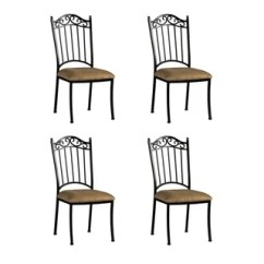 Set Of 4 Dining Chairs Small Patio Table 2 Buy Kitchen Room Online At Overstock Com Our Best Bar Furniture Deals