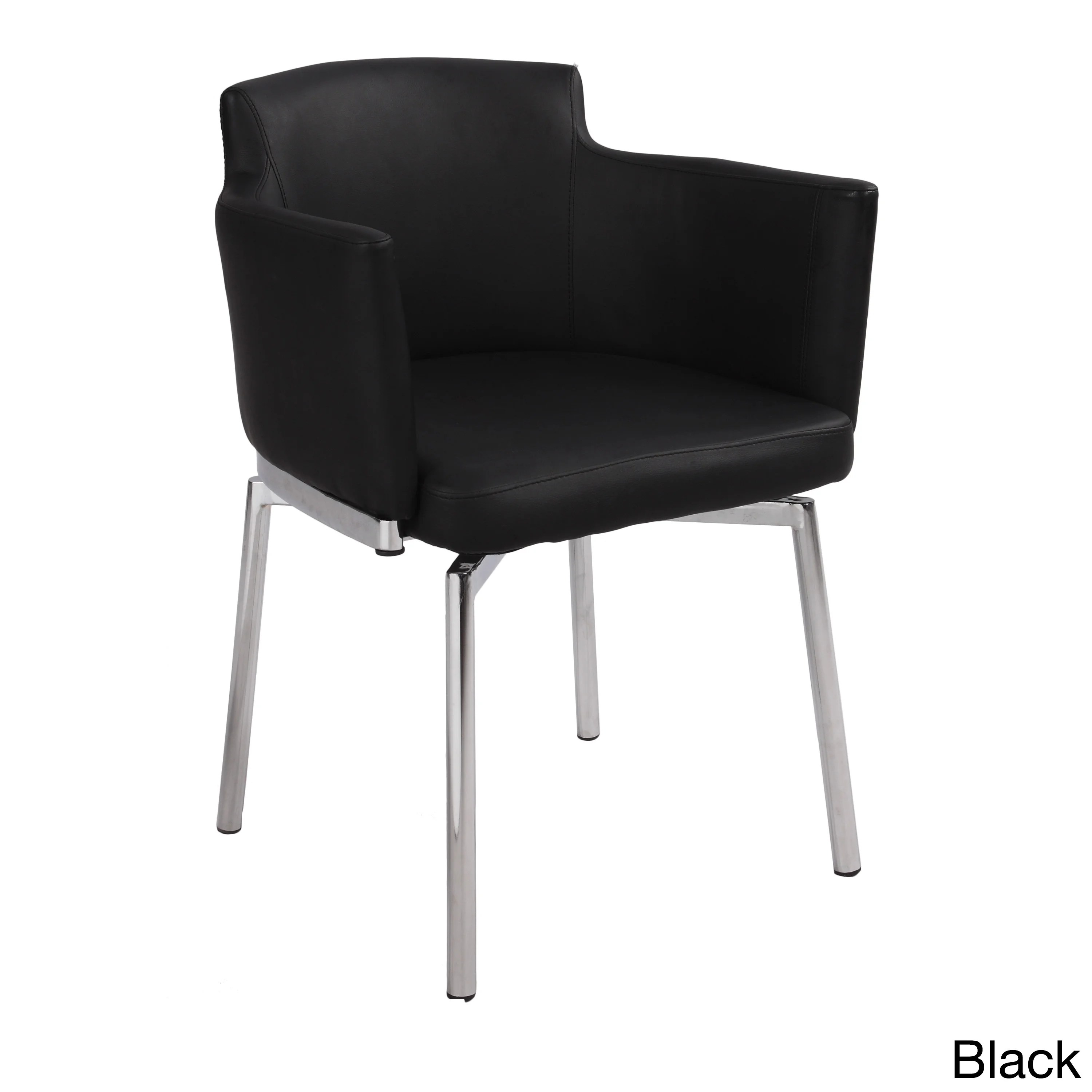 overstock arm chair used lifeguard chairs for sale somette club style modern swivel set of 2