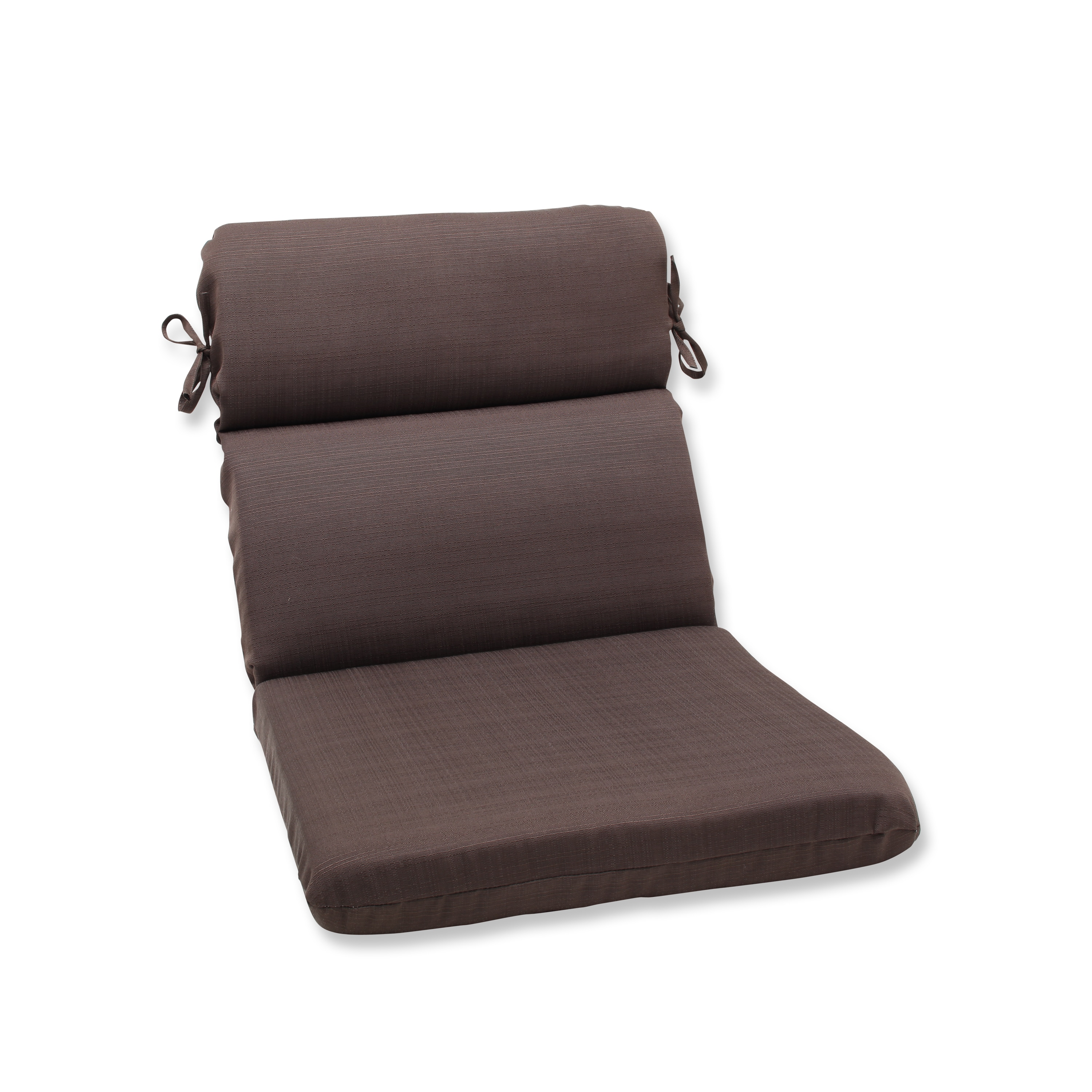Round Corner Chair Pillow Perfect Outdoor Brown Rounded Corners Chair Cushion