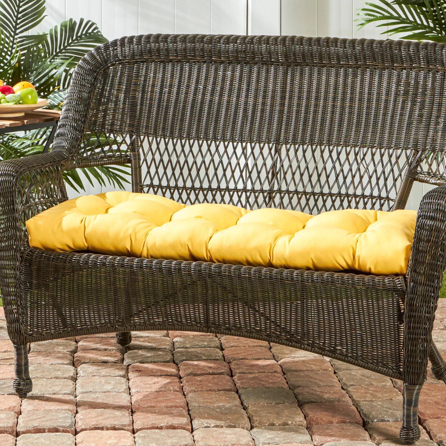 Shop Sunbrella Outdoor Swing Bench Cushion Free