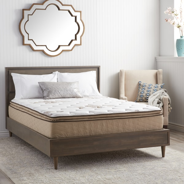Nuform Quilted Pillow Top 11 Inch Twin Size Foam Mattress