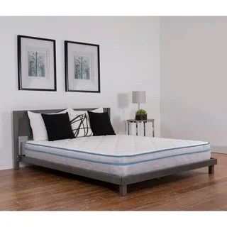 Nuform Quilted Euro Top 9 Inch Full Xl Size Medium Foam Mattress Option
