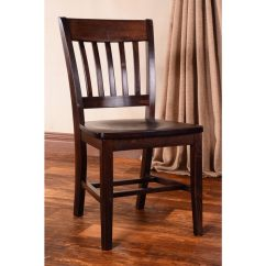 Wooden Library Chair Hideaway Sleeper Shop Dining Chairs Set Of 2 Walnut Free Shipping Today Overstock Com 8939740