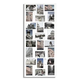 Shop White 24 Opening Collage Picture Frame Free