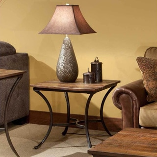 laramie sofa reviews london club reclaimed wood coffee, console, & end tables for less ...