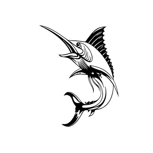 Shop Marlin Fish Vinyl Wall Art