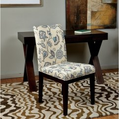 Armless Chair Office Pottery Barn Baby Slipcover Shop Star Products Dakota Parsons Paisley/scroll Floral Upholstered - Free ...