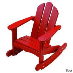 Kids Adirondack Chair And Table Set With Umbrella Beach Chaise Lounge Chairs Little Colorado Child's Rocking - Free Shipping Today Overstock.com 16212078
