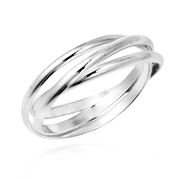Silver Ring Bands Silver Rings