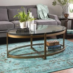 Glass Table Sets For Living Room How Do I Decorate My With A Red Couch Buy Coffee Tables Online At Overstock Com Our Best Strick Bolton Retro Glitz Metal