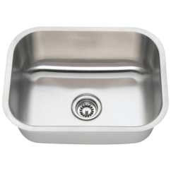 Single Bowl Stainless Kitchen Sink Outdoors Shop 2318 Steel