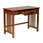 Shop Black Friday Deals On Osp Home Furnishings 1 Drawer Ash Oak Mission Desk On Sale Overstock 20603116