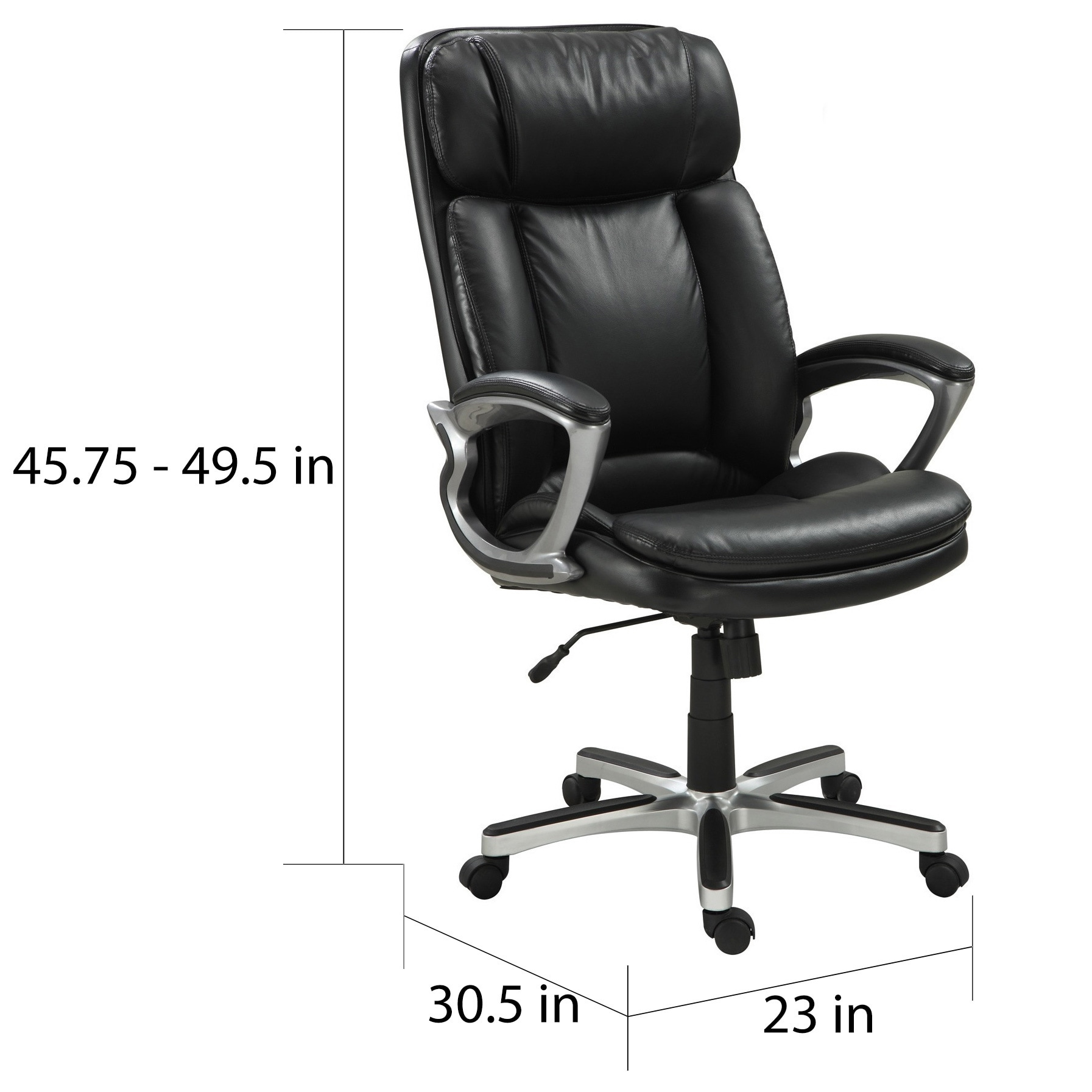 serta managers chair therapy ball leather office executive big