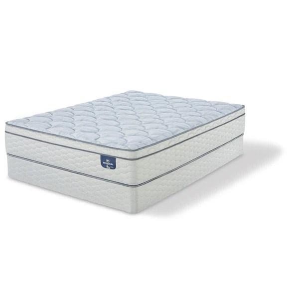 Serta Perfect Sleeper Bristol Way Ii Supreme Gel Eurotop Full Size Mattress Set Free Shipping Today 16276025