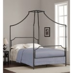 Shop Black Friday Deals On The Curated Nomad Bailey Charcoal Full Size Canopy Bed Frame Overstock 9086921
