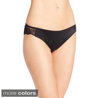 Maidenform Womens Comfort Devotion Lace Back Tanga Panty