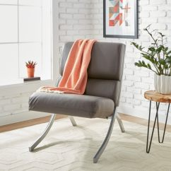Rialto Black Bonded Leather Chair Large Chairs For Living Room Shop Strick Bolton Charcoal Free Amp