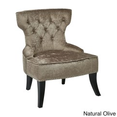 Office Chair Velvet Good Place To Buy Chairs Ave Six Vintage Button Tufted Overstock