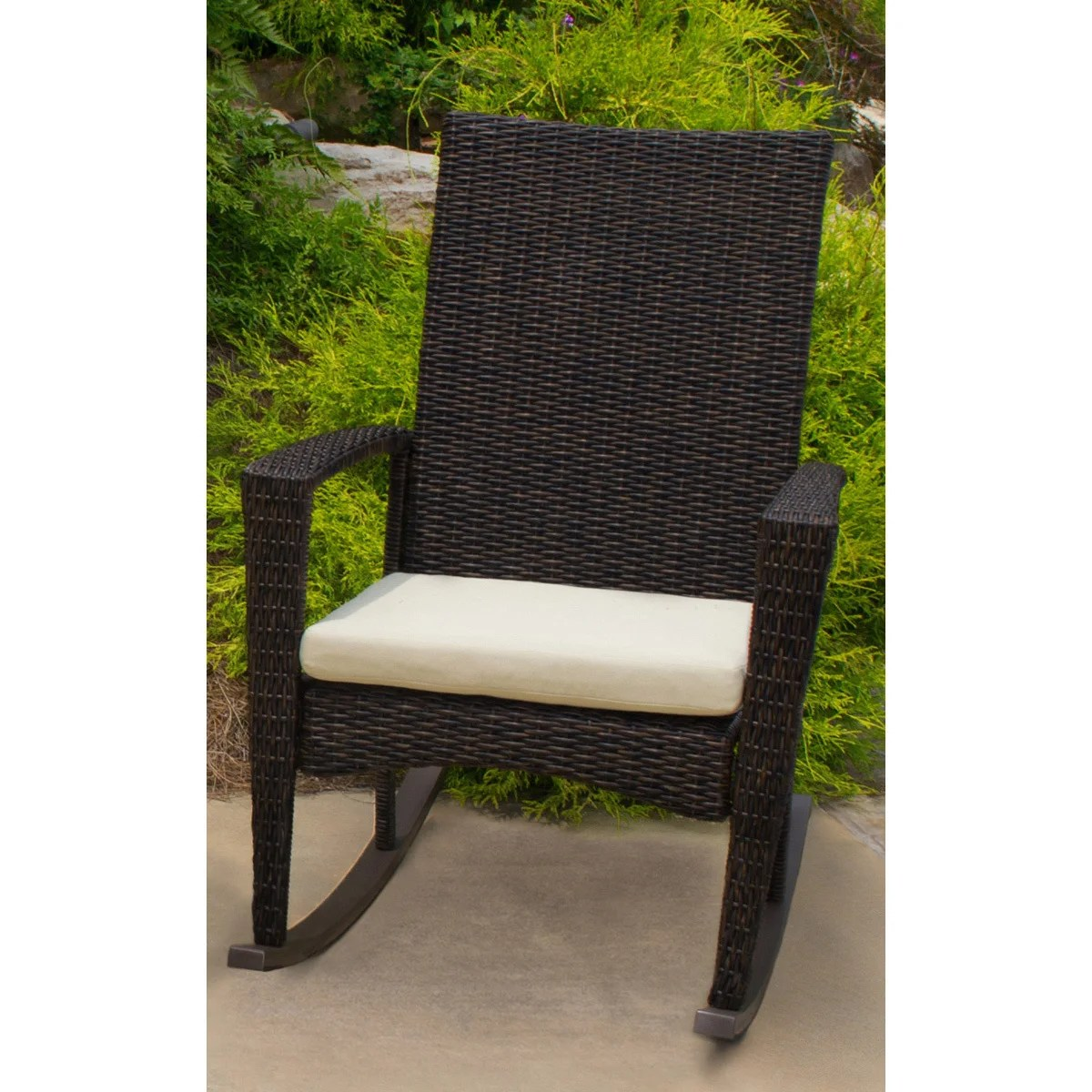 Overstock Rocking Chairs Shop Tortuga Outdoor Bayview Rocking Chair Free Shipping