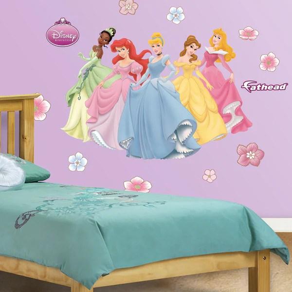 Fathead Jr Disney Princesses Wall Decals  16309937  Overstockcom Shopping  Big Discounts on