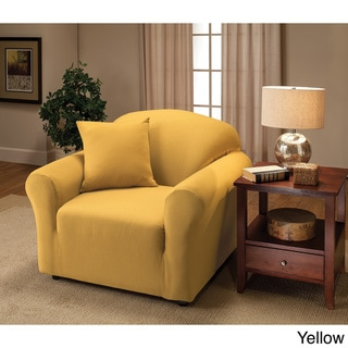 yellow chair covers butterfly walmart buy slipcovers online at overstock com our stretch jersey slipcover