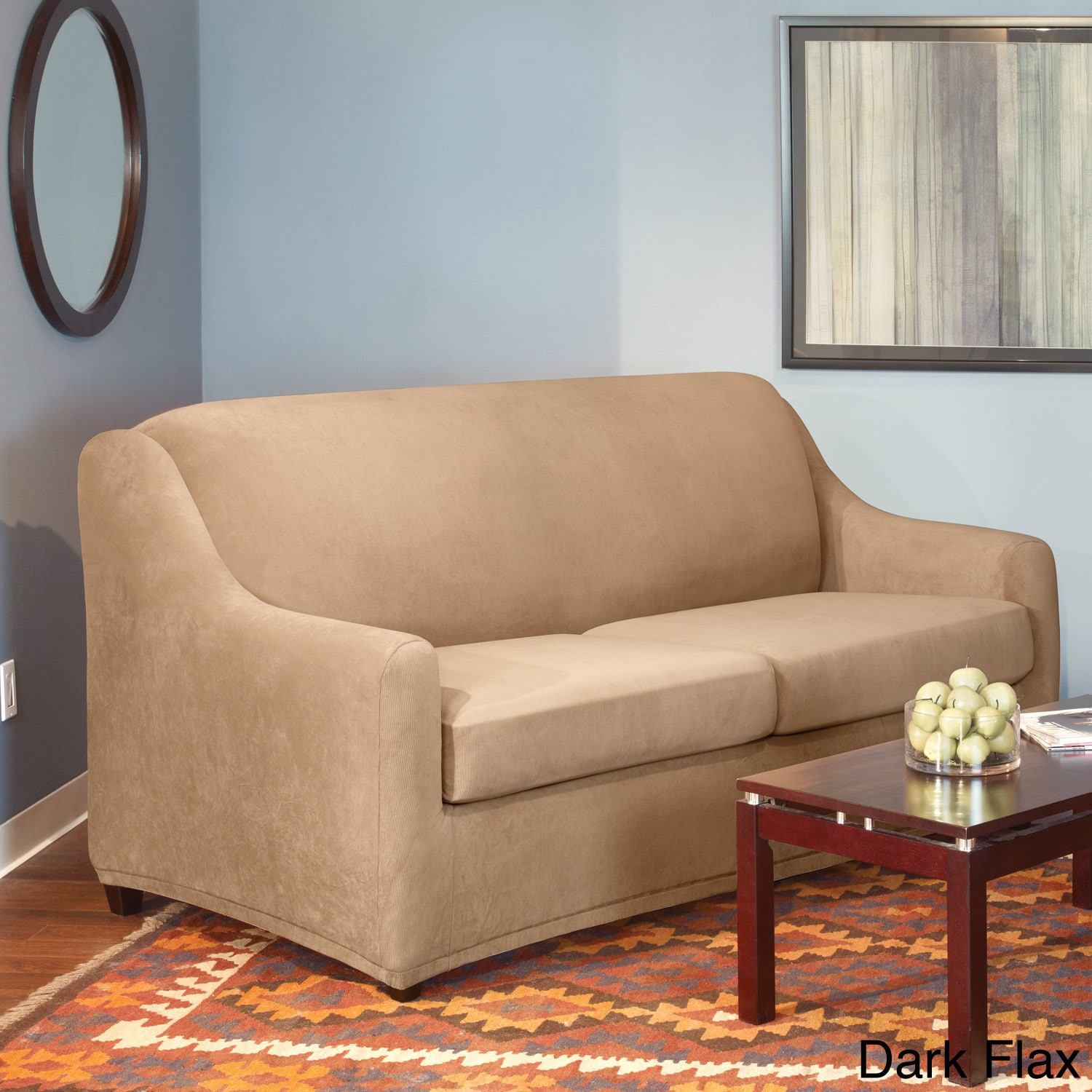 surefit pearson sofa cover ivan smith sofas sure fit stretch full 3 piece sleeper