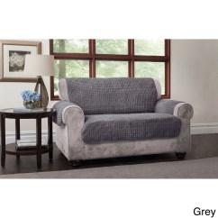 Cream Puff Chair Under Cover Plush Sofa Brand New Grey Corner With Swivel