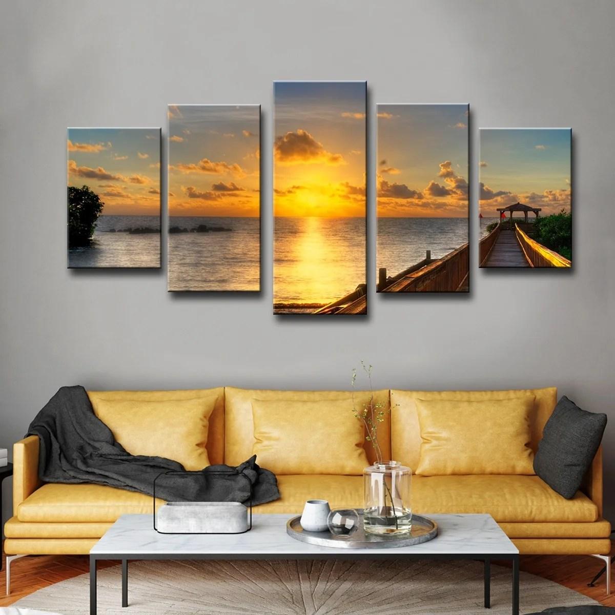 shop havenside home key s sunrise piece set canvas wall art by
