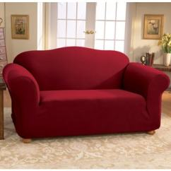 Durham One Piece Sofa Slipcover Emerald Home Furnishings Nicholas Motion Sure Fit Slipcovers - Overstock Shopping The Best Prices ...