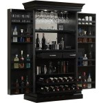 Ashley Heights Home Bar Wine Cabinet Overstock 9144232