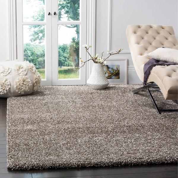grey rug living room carpet for shop safavieh milan shag 6 x 9 on sale free