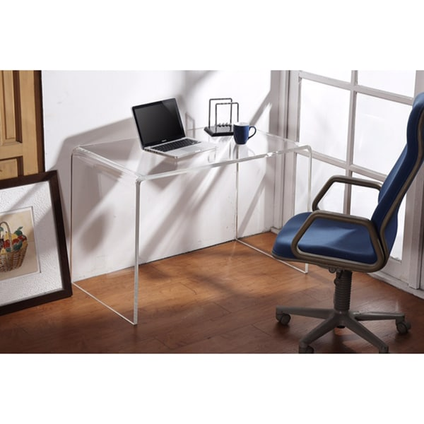 Shop Clear Acrylic Writing Desk  Free Shipping Today