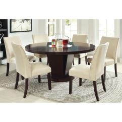 60 Inch Kitchen Table Honest Coupon Shop Furniture Of America Lolitia 7 Piece Espresso Round Dining Set