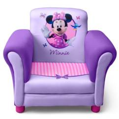 Kids Upholstered Rocking Chair Ergonomic Mumbai Delta Minnie Mouse Purple Children's - Free Shipping Today Overstock.com ...