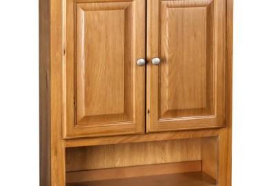 Shaker Oak Bathroom Wall Cabinet Overstock