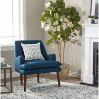 Shop Carson Carrington Taylor Mid Century Blue Tufted ...