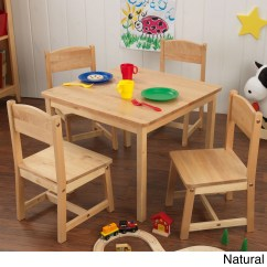 Kidkraft Farmhouse Table And Chair Set Espresso Hanging Walmart 4 Chairs Multiple
