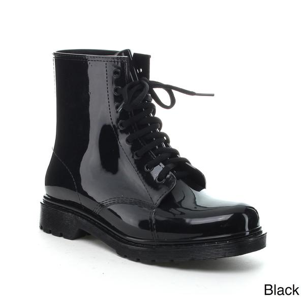 Jelly Lace Rain Boots