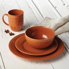 9 Piece Kitchen Table Set Faucet Parts Shop Rachael Ray Cucina Dinnerware 16-piece Stoneware ...