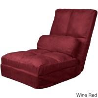 Cosmo Click Clack Convertible Futon Pillow-top Flip Chair ...