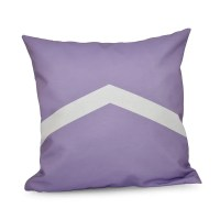 26 x 26-inch Two-tone Chevron Decorative Throw Pillow ...