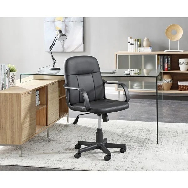 office chair overstock eames replica uk shop black adjustable free shipping today
