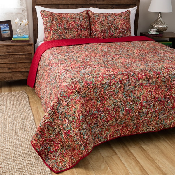 Shop Greenland Home Fashions Persian Multicolored Cotton 3