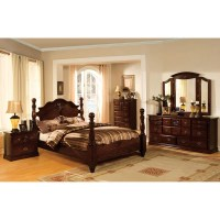 Shop Furniture of America Weston Traditional 4-piece ...